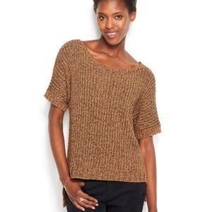 Rachel Roy marled high low hem sweater